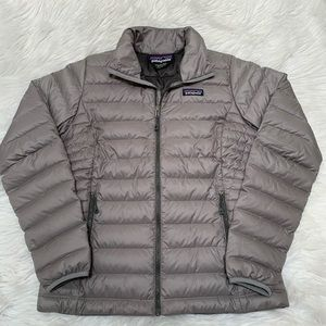 Worn Once Patagonia Grey Down Sweater Jacket Small